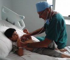 Syrian children refugees - Humanitarian surgical missions in Jordan